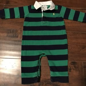 Ralph Lauren 6 mos long sleeve outfit